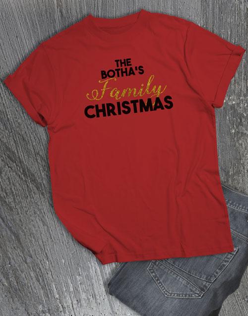 christmas: Personalised Family Christmas T Shirt!