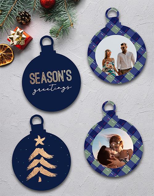 gifts: Personalised Seasons Greetings MDF Tree Decor!