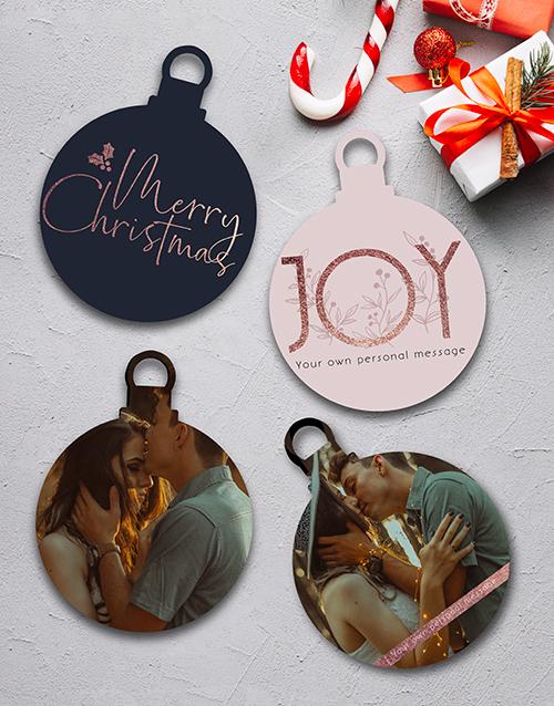 christmas: Personalised Joy MDF Tree Decor!