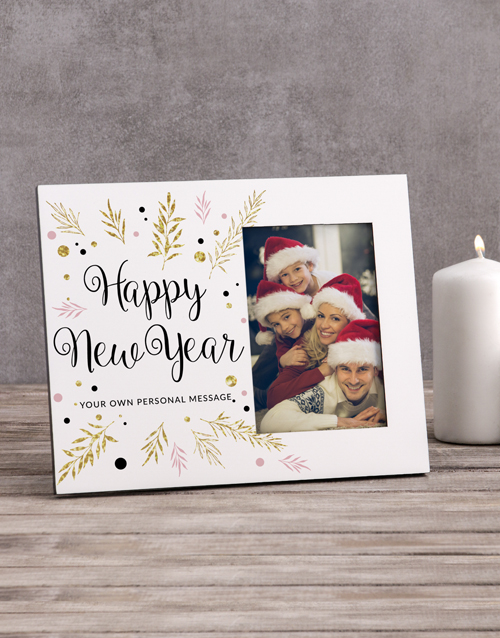 christmas: Personalised Happy New Year Photo Frame!