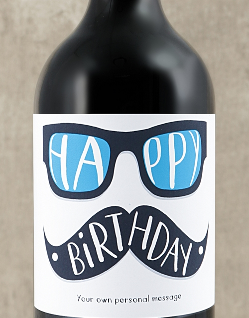 personalised: Personalised Birthday Glasses Wine!