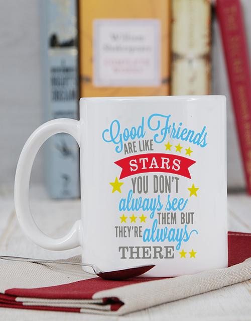 friendship: Personalised Good Friends Mug!