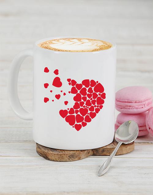 personalised: Personalised Heart Pieces Mug!