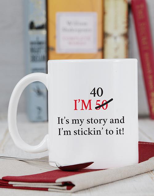 birthday: Personalised My Story Mug!