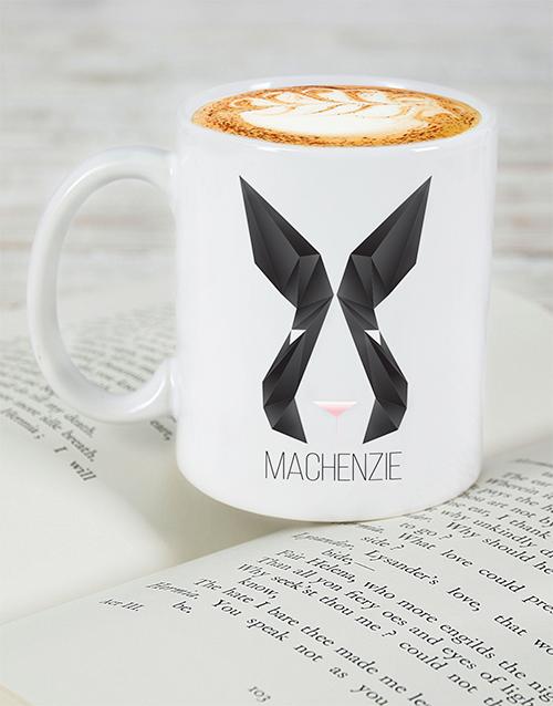 easter: Personalised Bunny Face Mug!