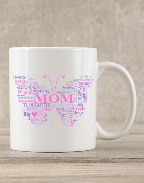 homeware: Personalised Butterfly Mom Mug!