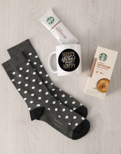 apparel: Personalised Happy Fathers Day Sock Hamper!