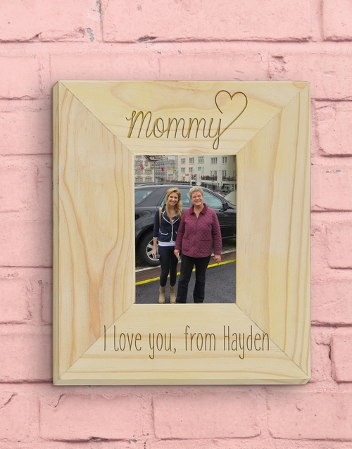 frames: Personalised Mommy Photo Frame!