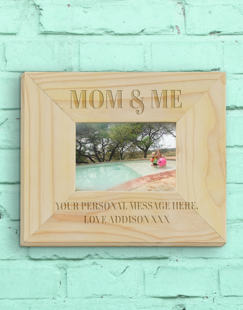home-decor: Personalised Mummy And Me Photo Frame!