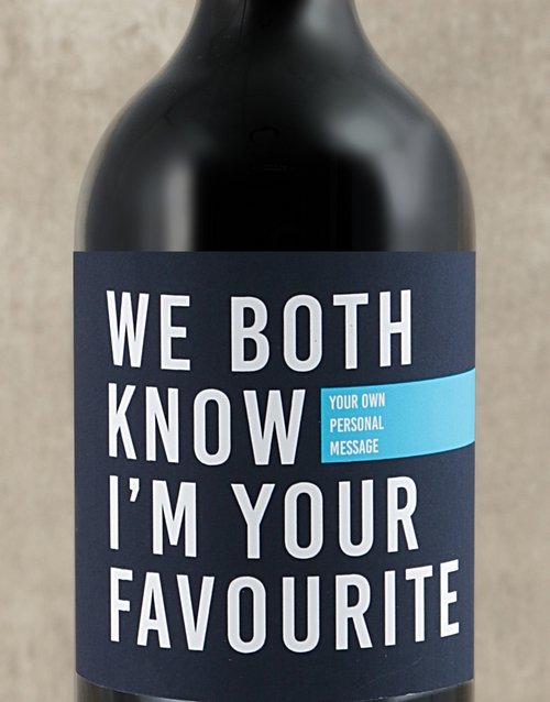 fathers-day: Personalised Im Your Favourite Wine!