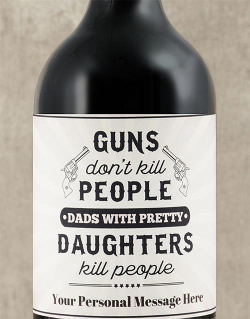 personalised: Personalised Pretty Daughters Wine!