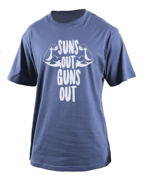 clothing: Personalised Petrol Guns Out T Shirt!
