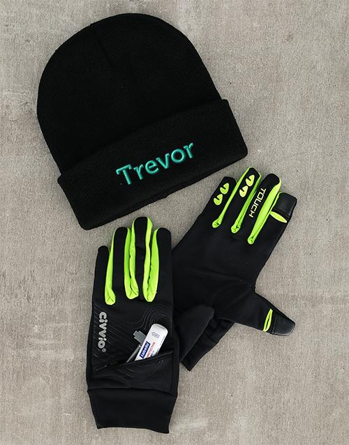 activewear: Personalised Winter Run Hamper!