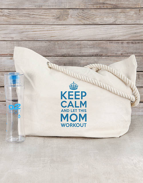 personalised: Personalised Mom Bag and Workout Bottle!