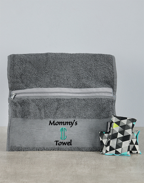 mothers-day: Personalised Mommys Towel Combo!