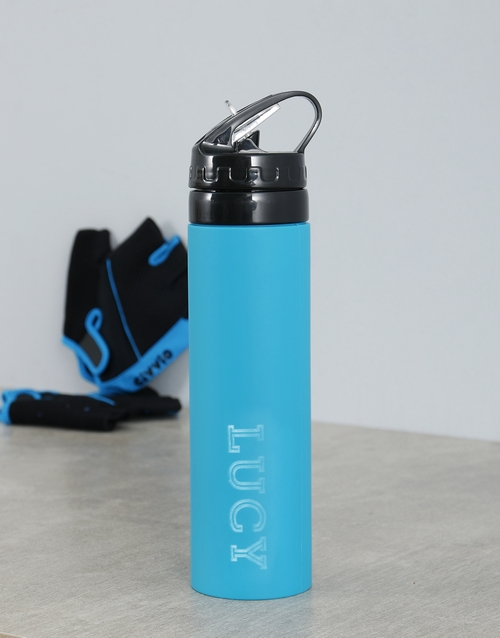 personalised: Personalised Silicone Water Bottle!