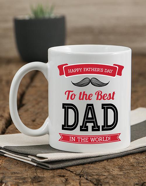 personalised: Personalised Best Dad Mug!