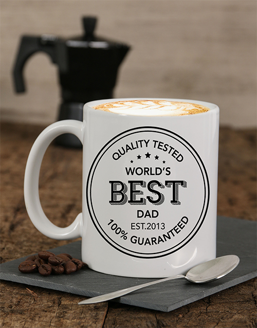 fathers-day: Personalised Quality Tested Dad Mug!