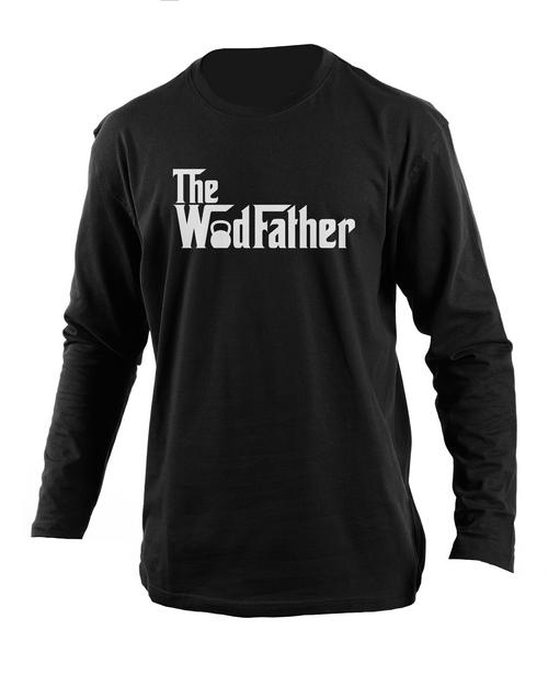 clothing: Personalised Wodfather Long Sleeve T Shirt!