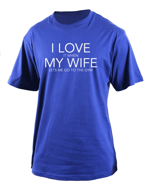 clothing: Personalised Love It When T Shirt!