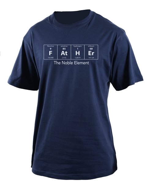 fathers-day: Personalised Noble Element T Shirt!