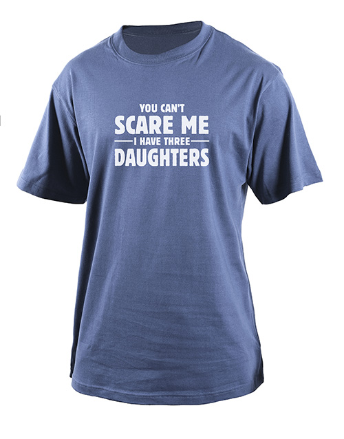 fathers-day: Personalised Cant Scare Me T Shirt!