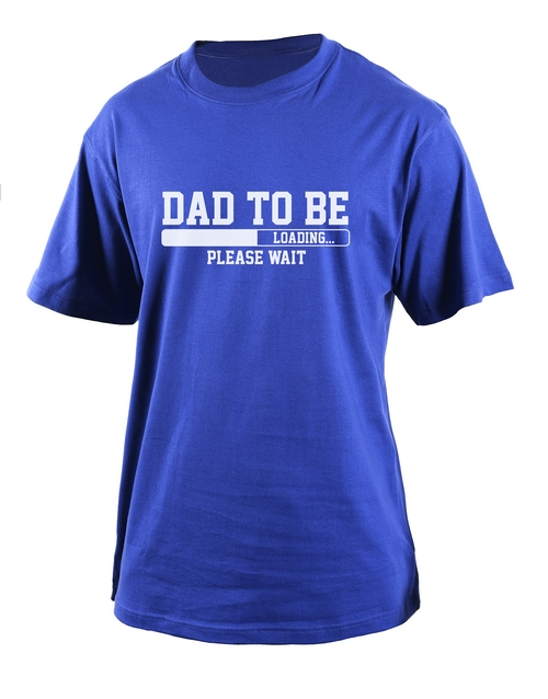 clothing: Personalised Dad To Be T Shirt!