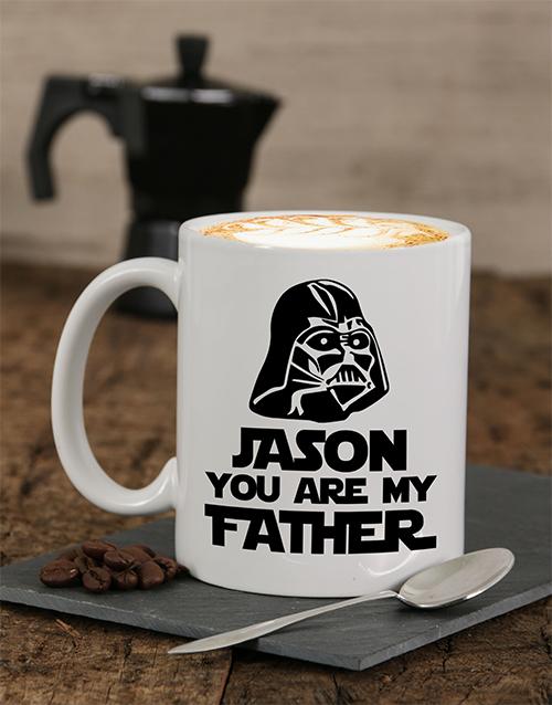 fathers-day: Personalised My Father Mug!