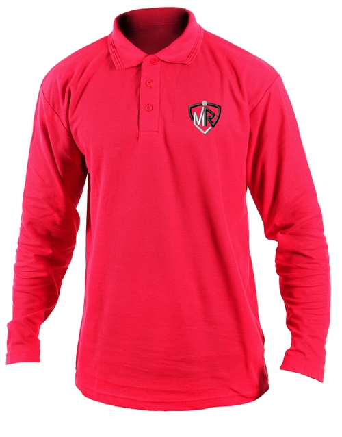 cyber-monday: Personalised Mens Red Golf Shirt!