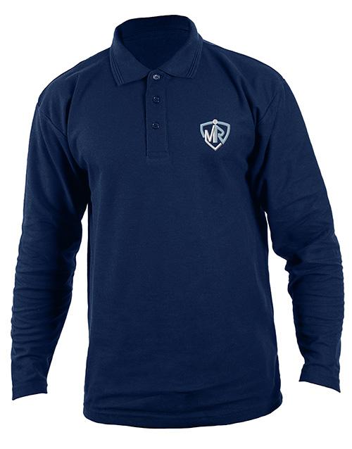 clothing: Personalised Navy Mens Golf Shirt!