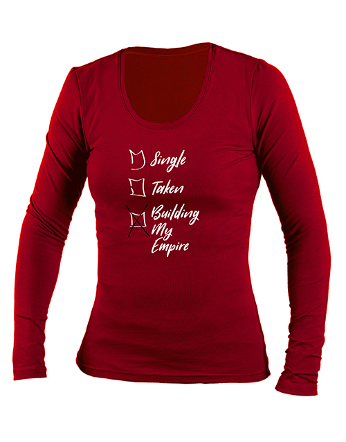 clothing: Personalised My Empire Longsleeve T Shirt!