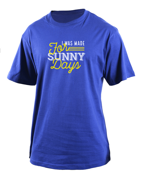 spring-day: Personalised Sunny Days T Shirt!