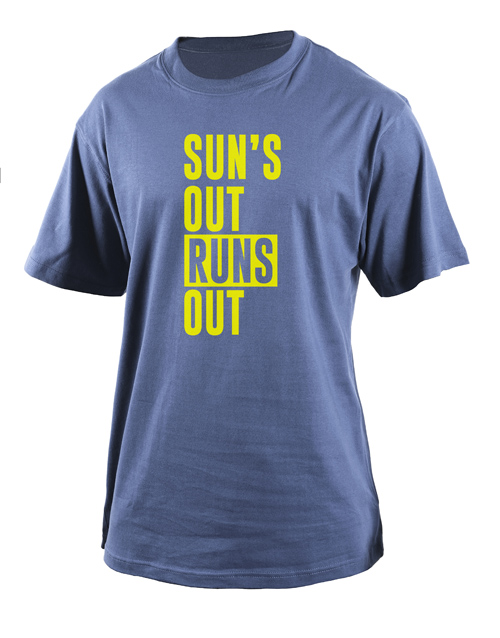 clothing: Personalised Runs Out T Shirt!