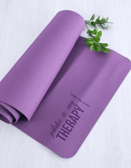 personalised: Personalised Therapy Pilates Mat!