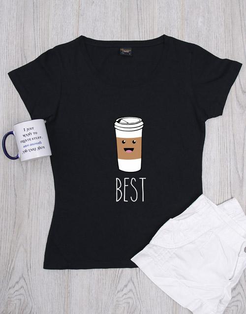 friendship: Personalised Coffee Shirt!