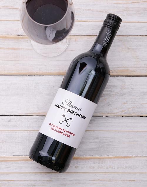 personalised: Personalised Vintage Birthday Wine!