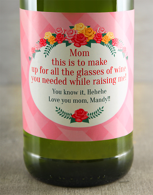 mothers-day: Mothers Day Personalised Wine!