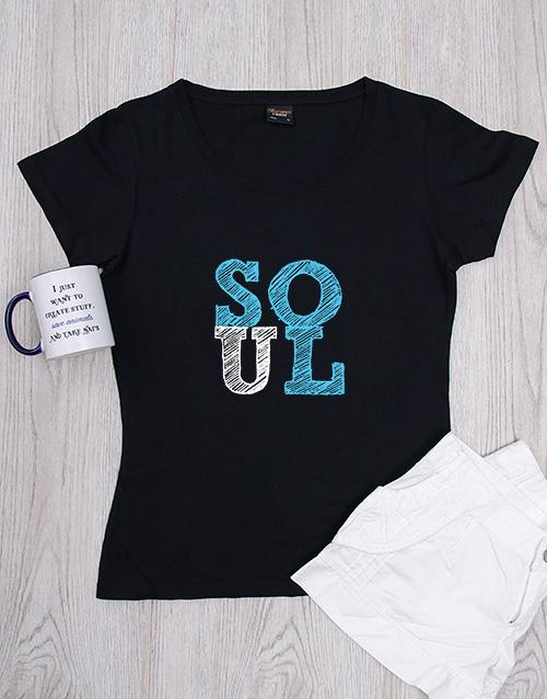 clothing: Personalised Soul Shirt!