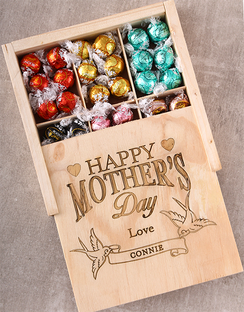 mothers-day: Personalised Mothers Day Lindt Treasure Box!
