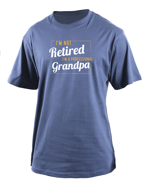 clothing: Personalised Professional Grandpa T Shirt!