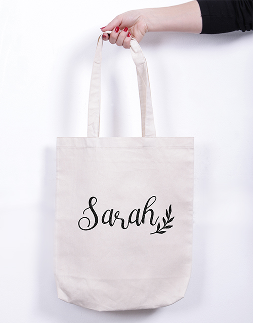 apparel: Personalised Branch Tote Bag!
