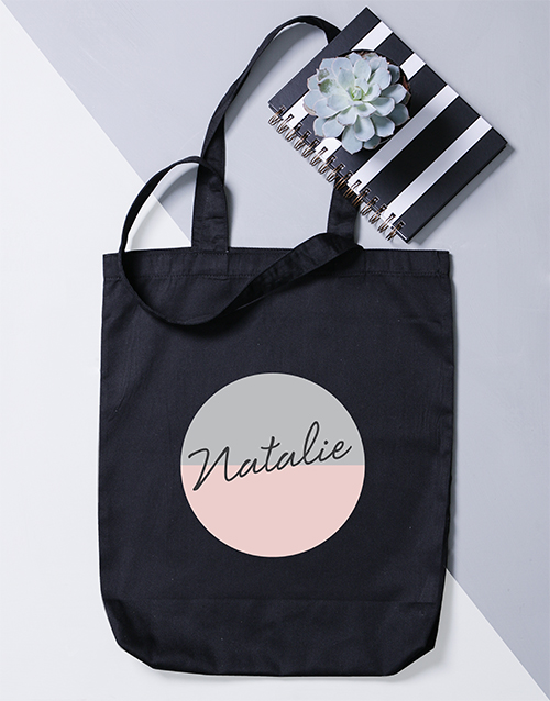 apparel: Personalised Two Tone Tote Bag!