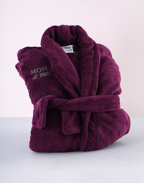 bath-and-body: Personalised Purple Mom Gown!