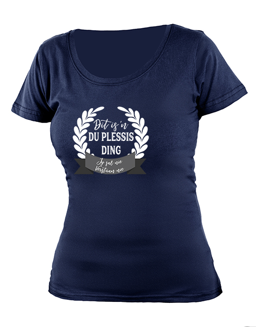 cyber-monday: Personalised Jou Ding Ladies T Shirt!