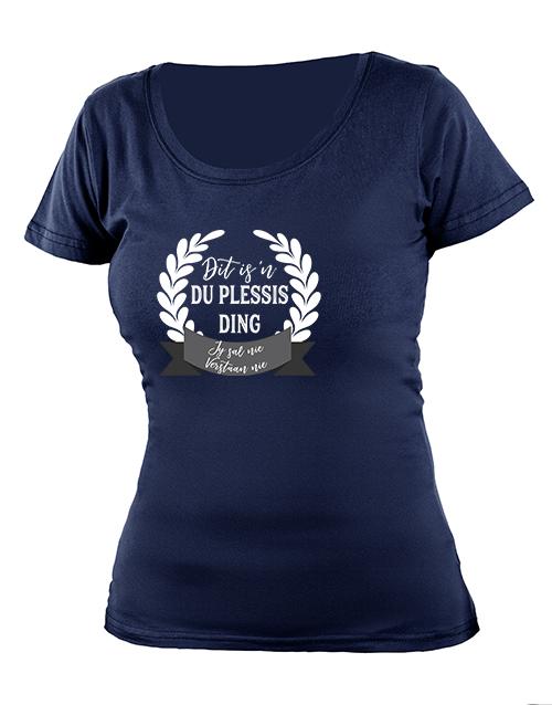 clothing: Personalised Jou Ding Ladies T Shirt!