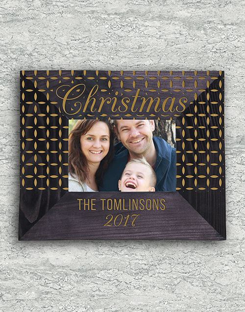 christmas: Personalised Special Christmas Frame!