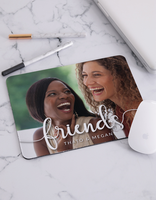 personalised: Personalised Love Photo Mouse Pad!