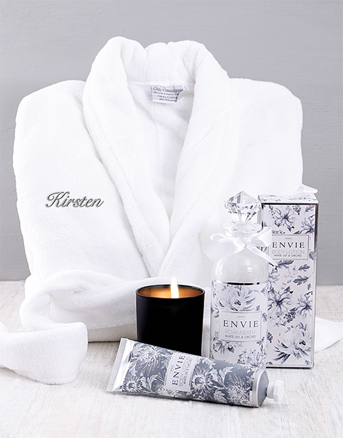 mothers-day: Personalised Silver Gown Gift!