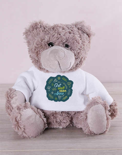 get-well: Personalised Get Well Jersey Teddy!