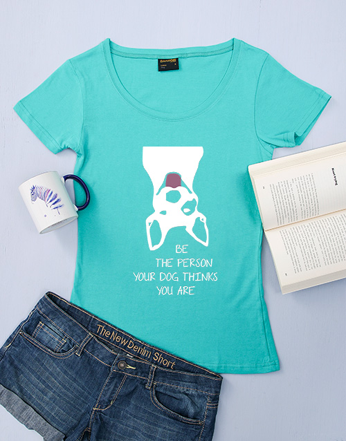 clothing: Personalised Dog Thinks You Are T Shirt!